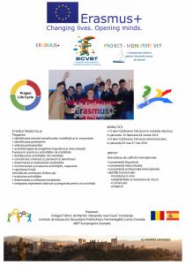 Poster Proiect Erasmus+ 2015014645